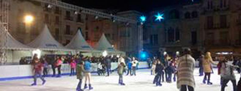Pista de gel a la Plaça del Mercadal del 27 de novembre al 10 de gener