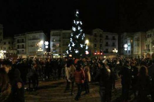 Un Cap d'Any «sobre gel» a Reus i amb campanades en directe des de la Prioral